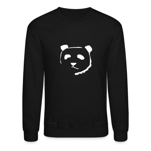 Panda Face WHITE - Crewneck Sweatshirt