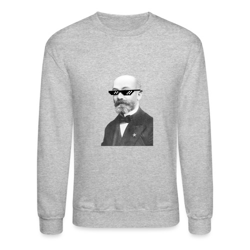 Zamenhof Shades (BW) - Crewneck Sweatshirt