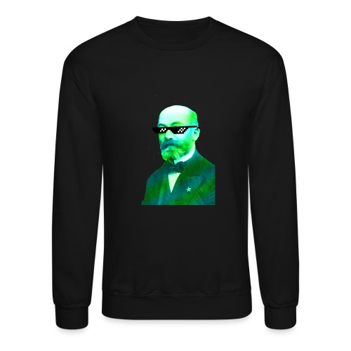 Green and Blue Zamenhof - Crewneck Sweatshirt