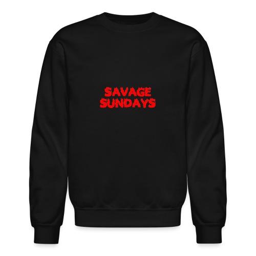 Savage Sundays - Crewneck Sweatshirt