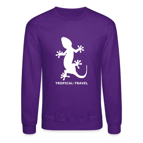 tropical travel - Crewneck Sweatshirt