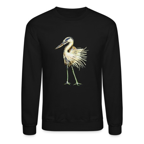 Great Blue Heron - Crewneck Sweatshirt