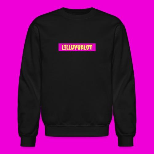lilluvualot box logo - Crewneck Sweatshirt