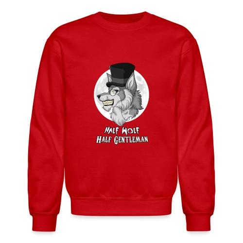 Half-Wolf Half-Gentleman - Crewneck Sweatshirt