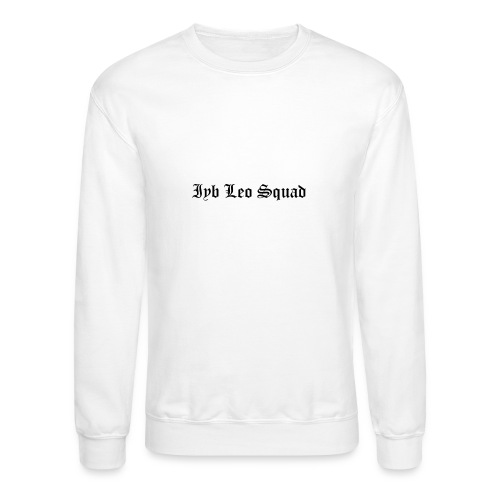 iyb leo squad logo - Crewneck Sweatshirt