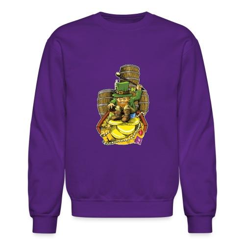 Angry Irish Leprechaun - Crewneck Sweatshirt