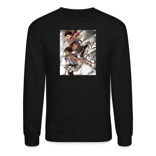 Ashbash14 channel art - Crewneck Sweatshirt