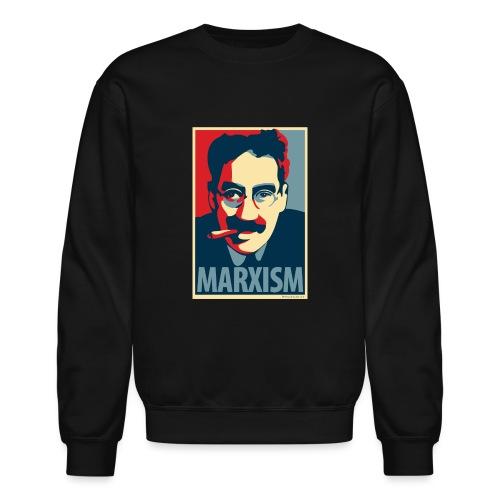 Marxism: Obama Poster Parody - Crewneck Sweatshirt