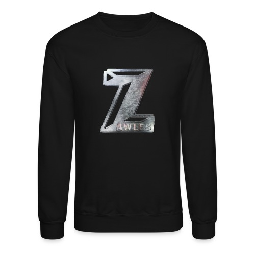 Zawles - metal logo - Unisex Crewneck Sweatshirt