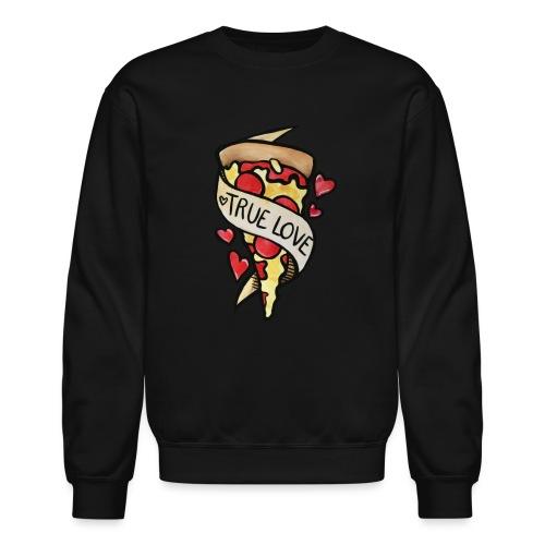 Pizza true love - Crewneck Sweatshirt