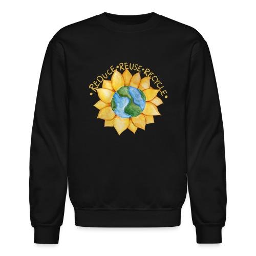 Reduce reuse recycle - Crewneck Sweatshirt