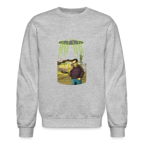Art Bell Coast to Coast UFO Sighting - Crewneck Sweatshirt