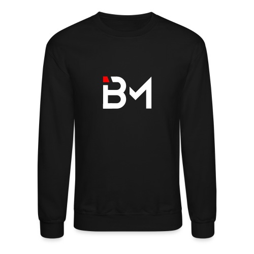 Bench Mob logo no lettering (white) - Unisex Crewneck Sweatshirt