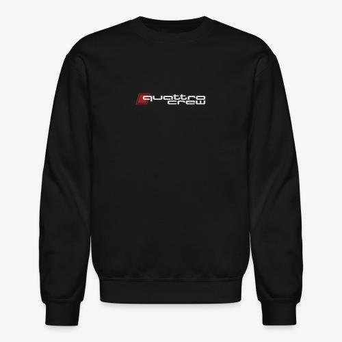 Quattro Crew - Light logo - Crewneck Sweatshirt