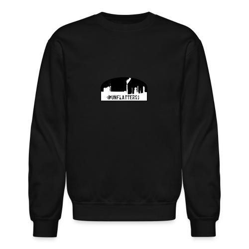 Unflatter Hashtag logo - Crewneck Sweatshirt
