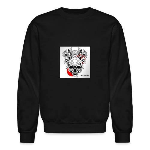 zt flameskull 01 - Unisex Crewneck Sweatshirt