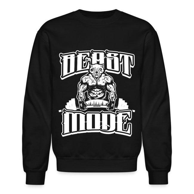 Beast-Mode Gym Sports | Crewneck Sweatshirt