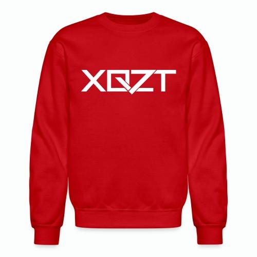 #XQZT Logo Snow White - Unisex Crewneck Sweatshirt