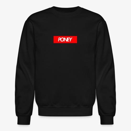 SUPREME PONEY v2 - Unisex Crewneck Sweatshirt