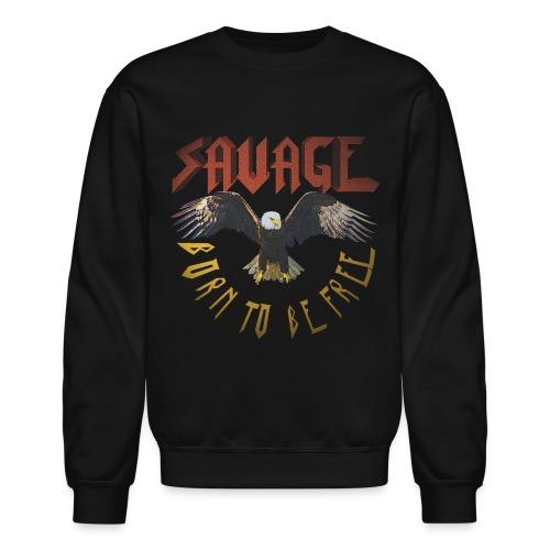 vintage eagle - Unisex Crewneck Sweatshirt