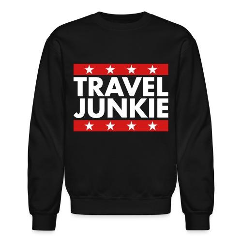 Travel junkie - Crewneck Sweatshirt