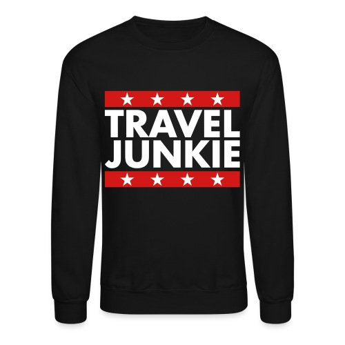 Travel junkie - Unisex Crewneck Sweatshirt