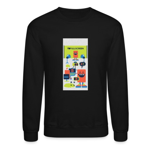 iphone5screenbots - Crewneck Sweatshirt