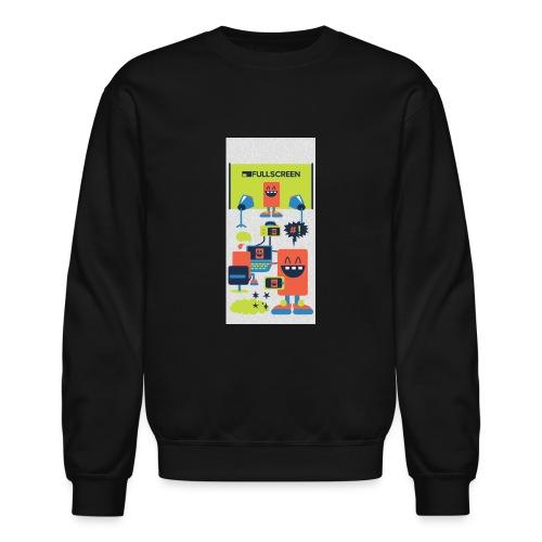 iphone5screenbots - Unisex Crewneck Sweatshirt