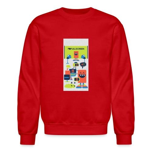 iphone5screenbots - Crewneck Sweatshirt