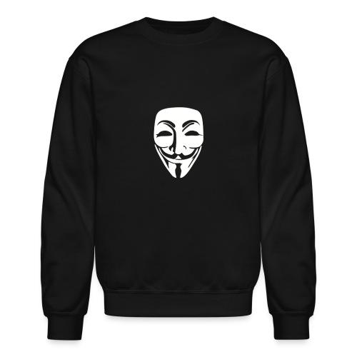 Anonymous Just Face gif - Unisex Crewneck Sweatshirt