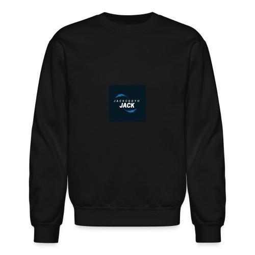 JackCodyH blue lightning bolt - Unisex Crewneck Sweatshirt