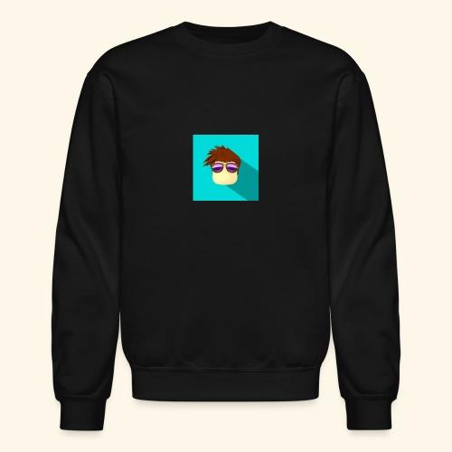 NixVidz Youtube logo - Crewneck Sweatshirt