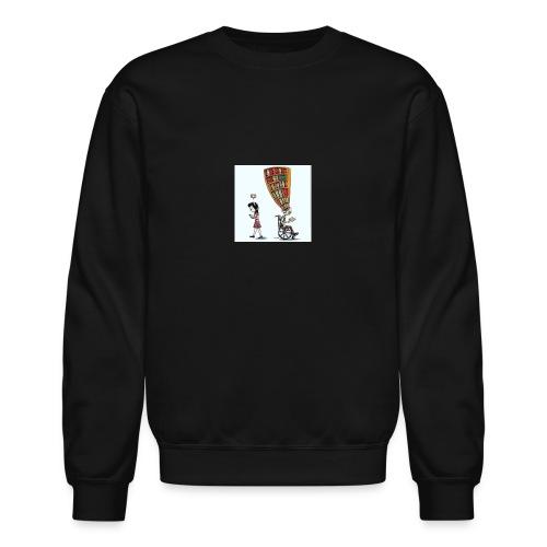 Less mobile more books - Crewneck Sweatshirt