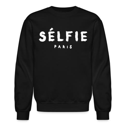 selfie wht - Crewneck Sweatshirt