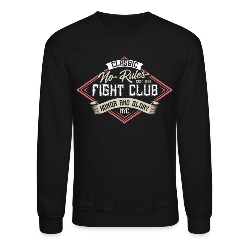fight club karate - Unisex Crewneck Sweatshirt