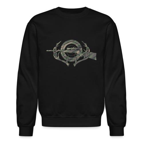 Camouflage Hunting and Shooting Sports Logo - Crewneck Sweatshirt