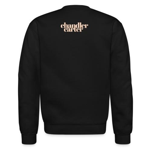 Chandler Carter Logo - Ecru - Crewneck Sweatshirt