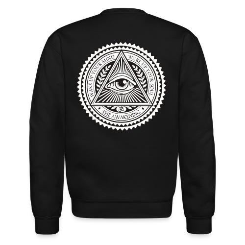 all seeing eye logo png - Unisex Crewneck Sweatshirt
