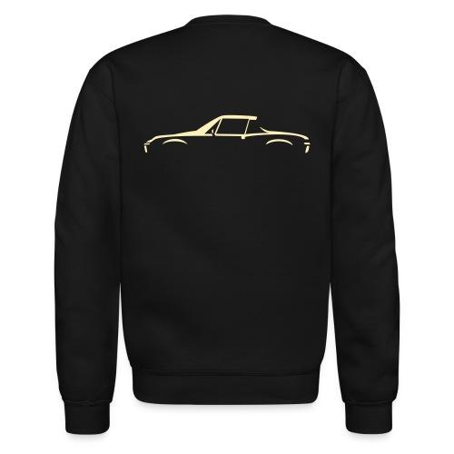 Sportscar Profile for dark colored shirts - Unisex Crewneck Sweatshirt