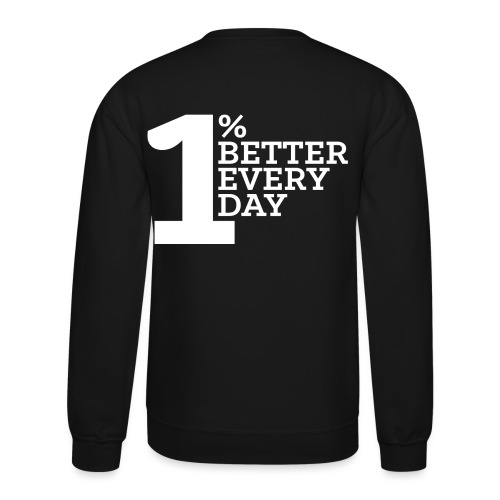 OPBED_Shirt 5_white - Crewneck Sweatshirt