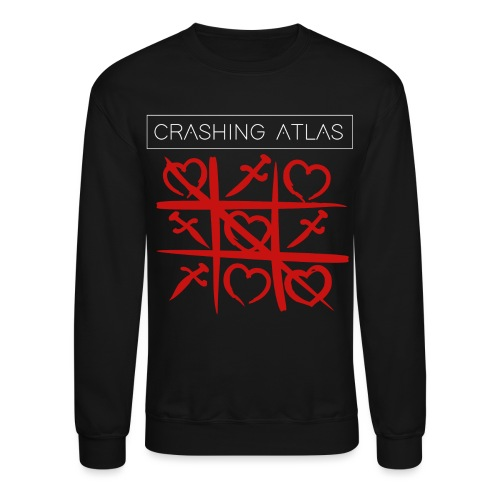 Hearts and Daggers - Unisex Crewneck Sweatshirt