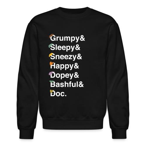 dwarfswhite - Unisex Crewneck Sweatshirt