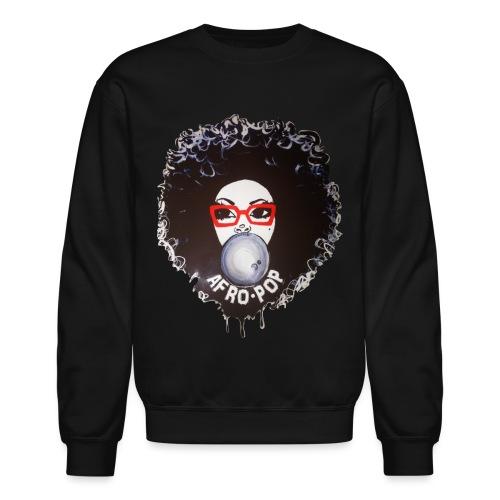 Afro pop_ - Unisex Crewneck Sweatshirt