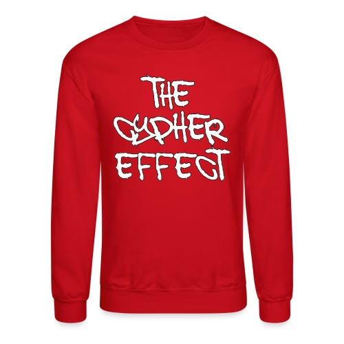 red outline tce2 png - Unisex Crewneck Sweatshirt