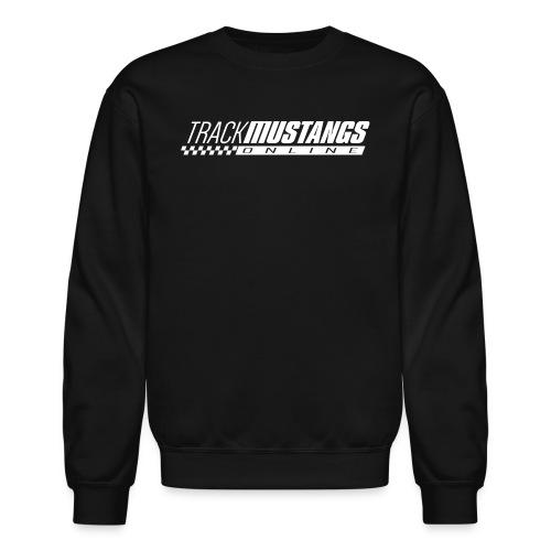 TMO Logo White - Unisex Crewneck Sweatshirt