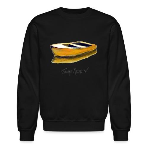 Yellow Boat Tshirt design5 - Unisex Crewneck Sweatshirt