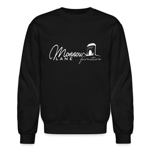Monnow Lane Furniture Logo white - Unisex Crewneck Sweatshirt