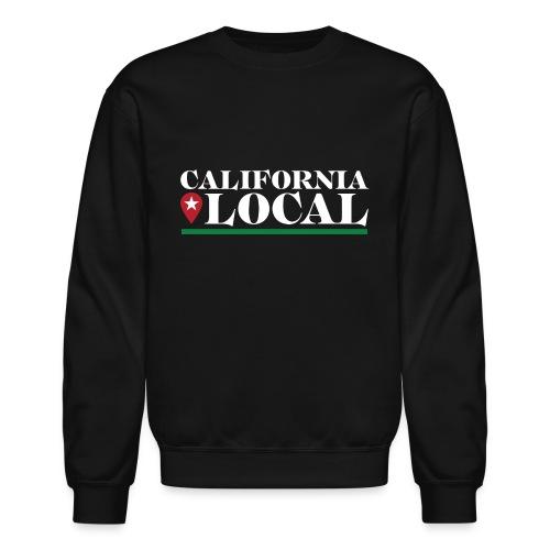 California Local Light on Dark - Unisex Crewneck Sweatshirt