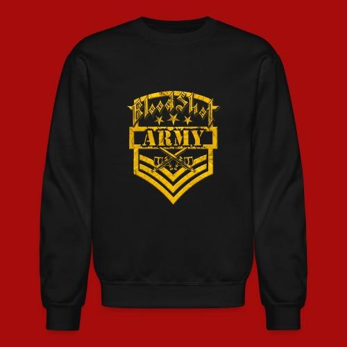 BloodShot ARMY Logo - Unisex Crewneck Sweatshirt