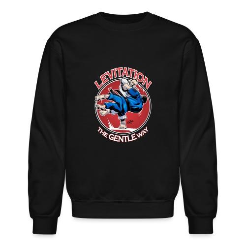 Judo Shirt - Levitation for dark shirt - Unisex Crewneck Sweatshirt